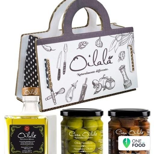 Shopper Gift Olive Oil Olives Kit 1 X 1 45 Kg